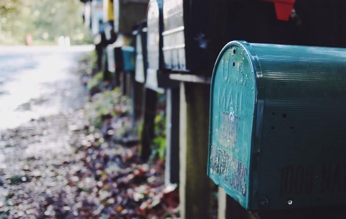 手紙を入れるポスト