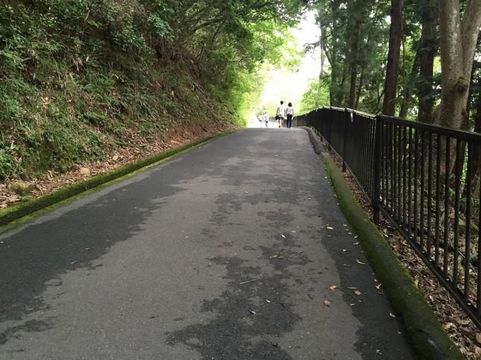 竹田城までの道のり