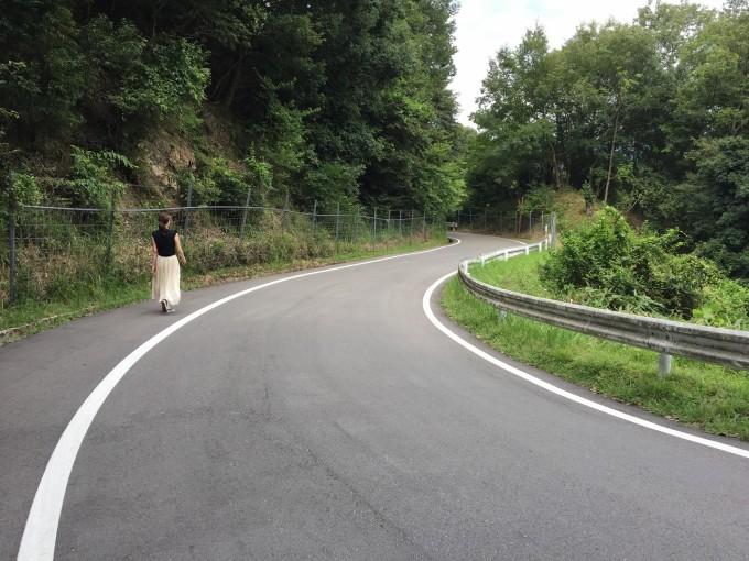 山城の郷への帰り道