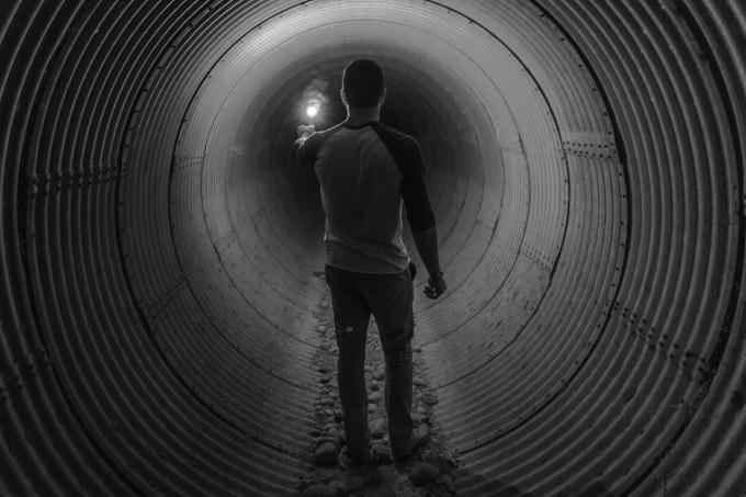 トンネルに惹きつけられる