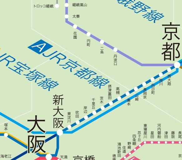 大阪~京都
