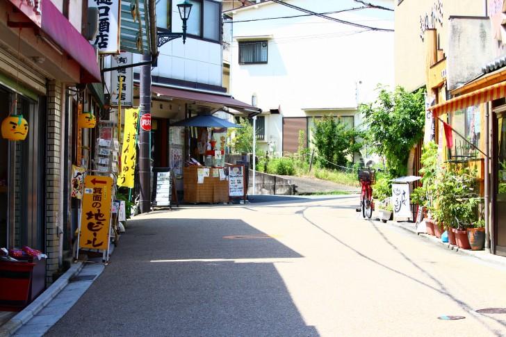 滝道の売店