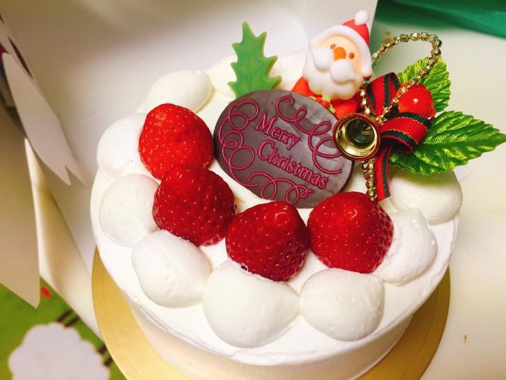クリスマスのホールケーキ