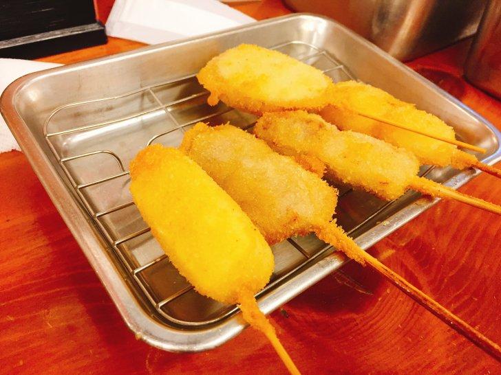 ここの串カツ美味しかったー!