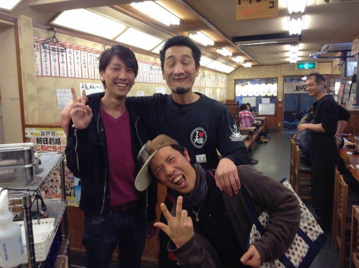 串カツ屋の店長とよこけんさんと僕