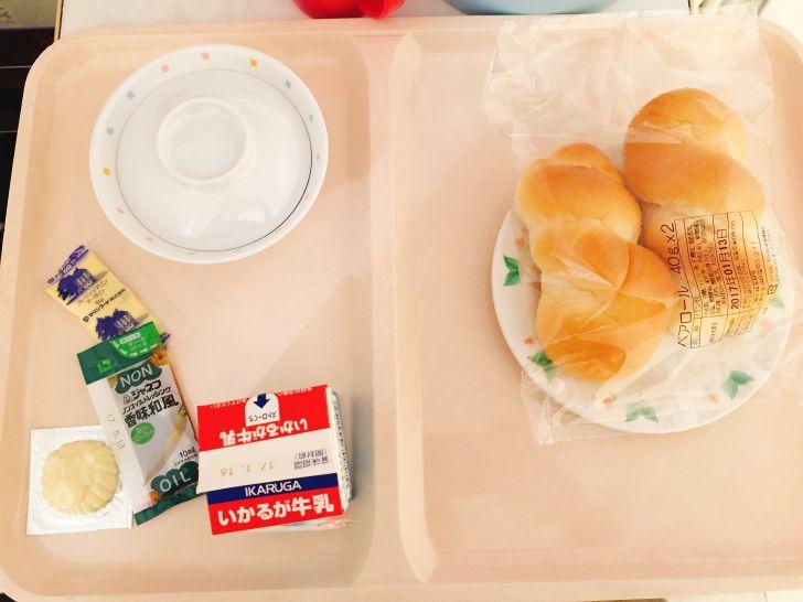 とある日の朝食