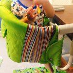 子供が座っているイングリッシーナ