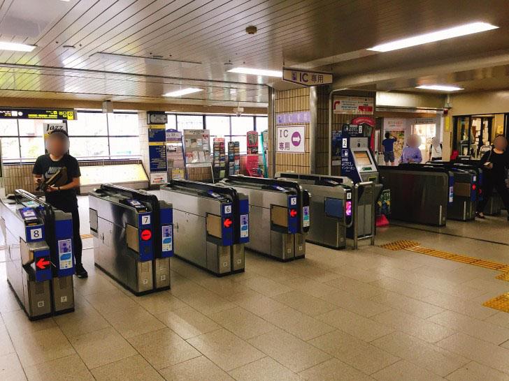 阪急池田駅 改札