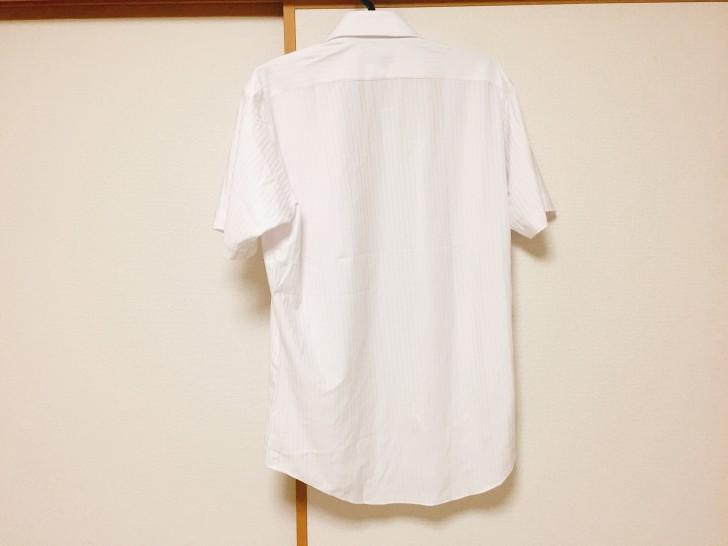 アイシャツ 背中側