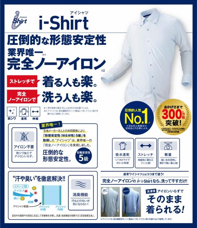 i-Shirtの解説画像