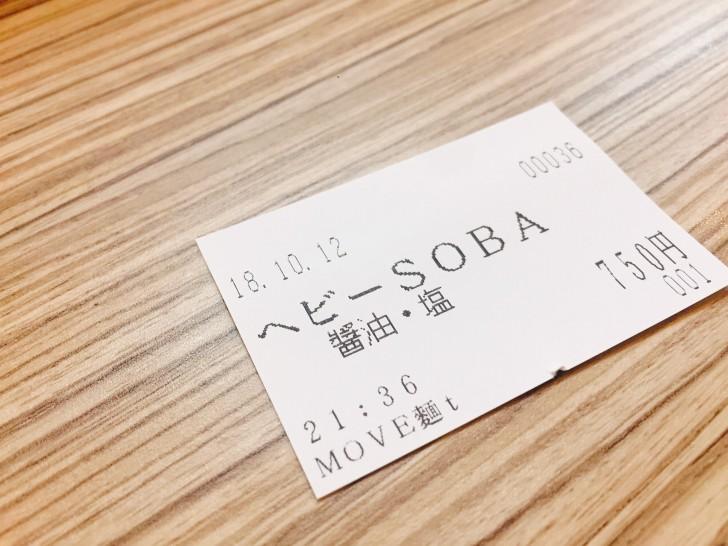 ヘビー中華SOBAの食券