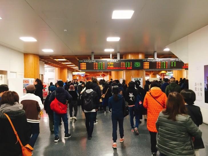 JR奈良駅の改札