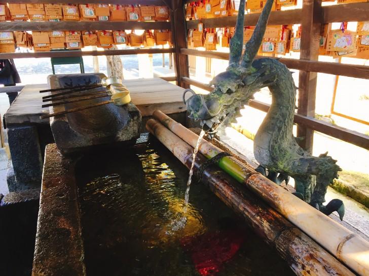 興福寺 手水舎