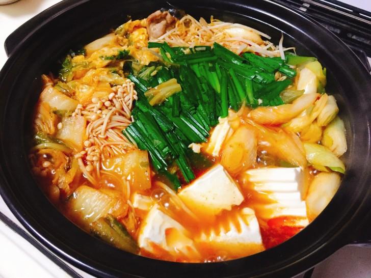日本食研 キムチ鍋スープ 完成
