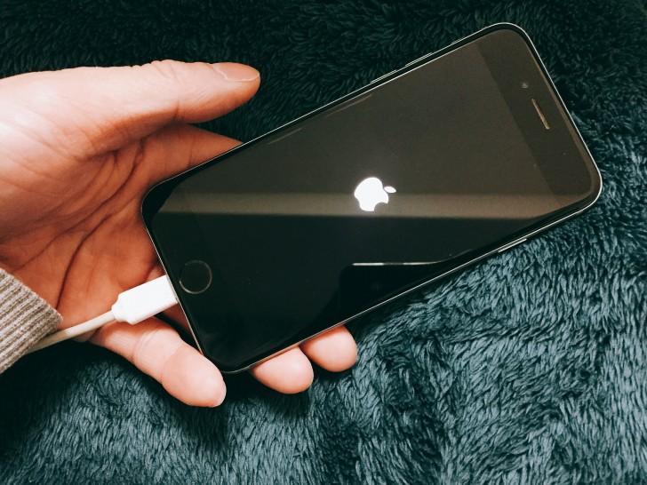 電源オン iPhone