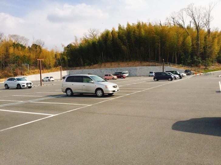 日曜日の駐車場