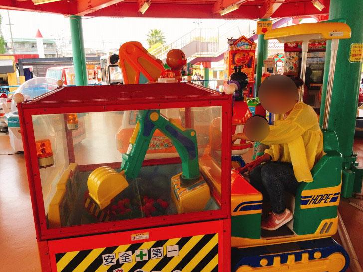 ゲームセンター クレーン車