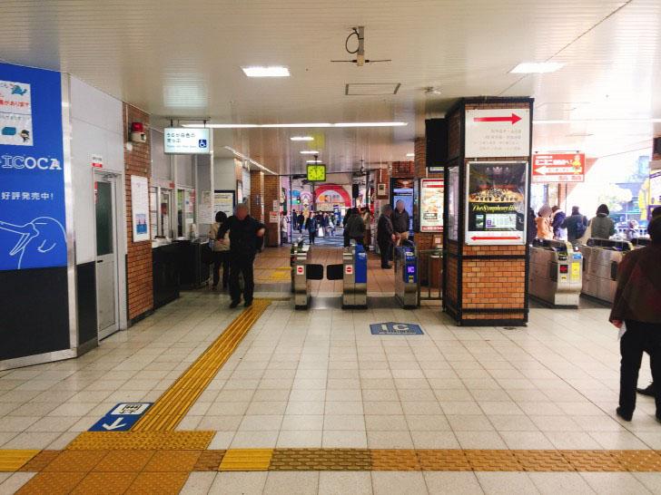 JR福島駅 改札