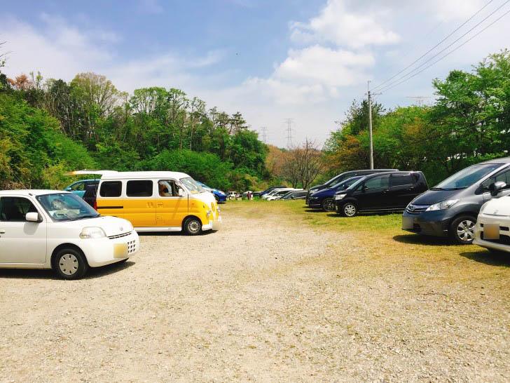 のどか村駐車場