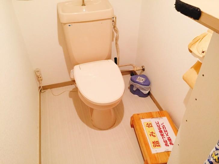 トイトイパークのトイレ