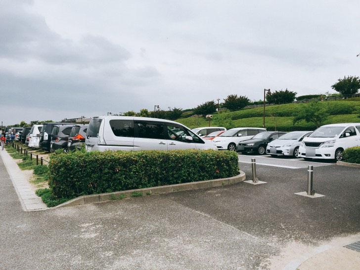 中央駐車場
