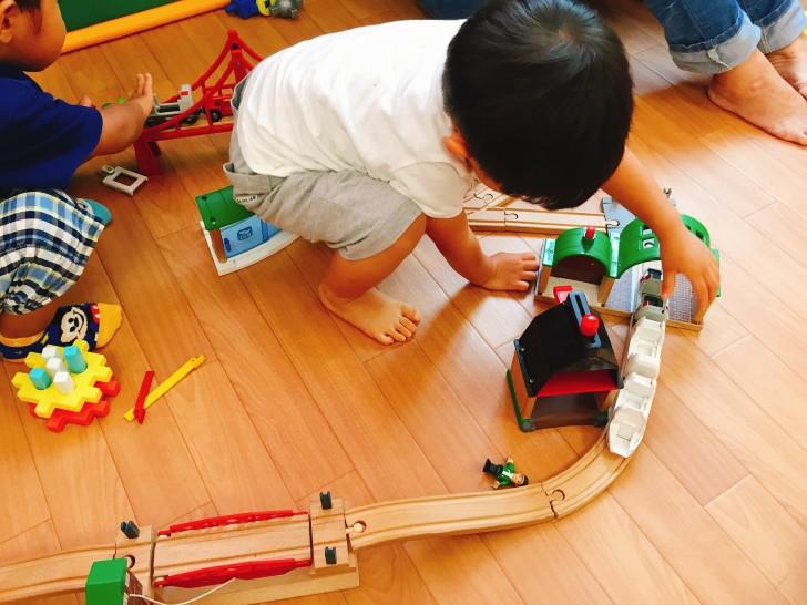 おもちゃで遊べるスペース