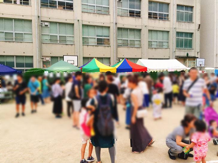 新東三国小学校・納涼夏祭