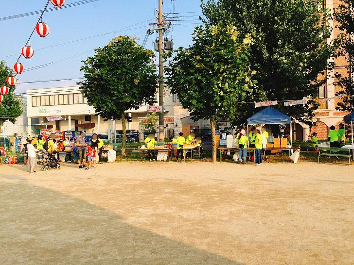 三国本町公園 広場 フードコーナー