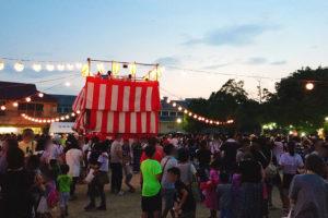 三国本町公園 夏祭り