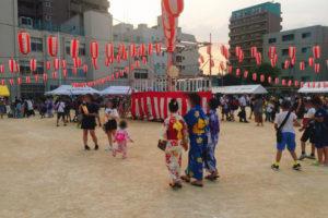 北中島小学校 納涼親子盆踊り大会