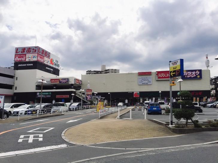 ジャガーグリーン前の平面駐車場